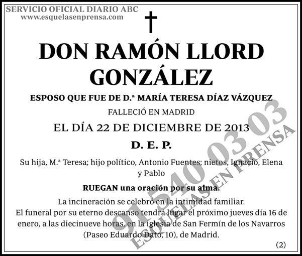 Ramón Llord González